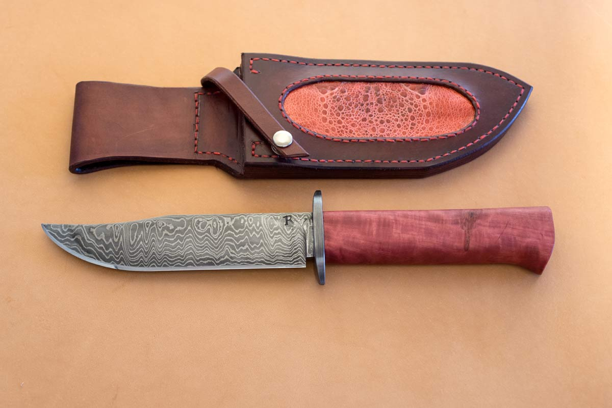 PinkIvory Knife handle - Wäfler