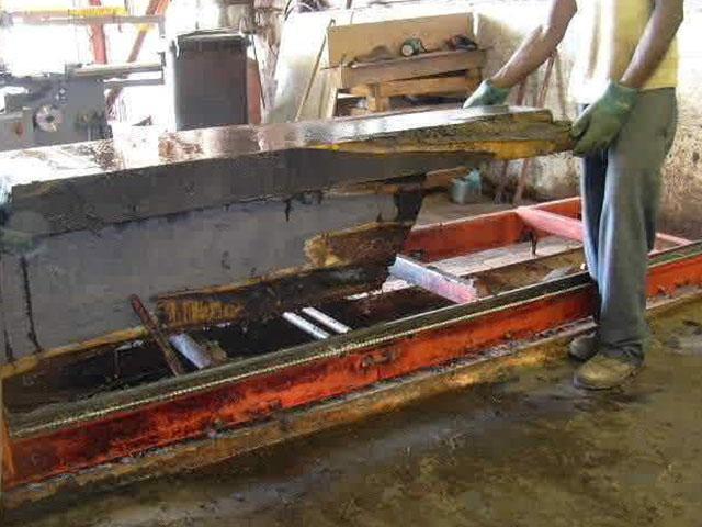 14. Removal of 80 KG slabs