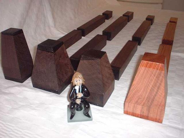 17. Clarinet & Oboe sets ABW & Mopane