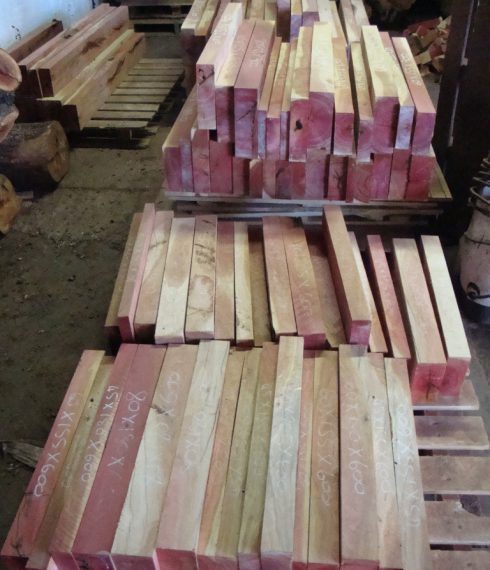2m3 of pink ivory project lumber