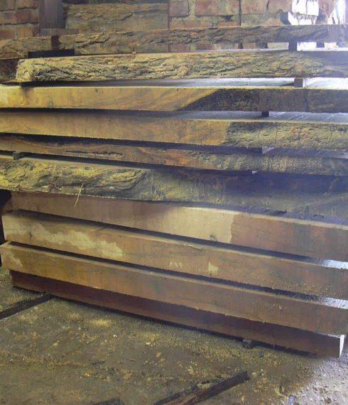 Slabs & logs of wild olive