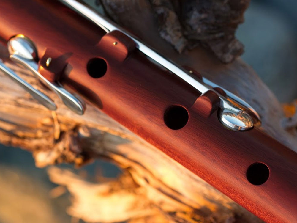red ivory flute