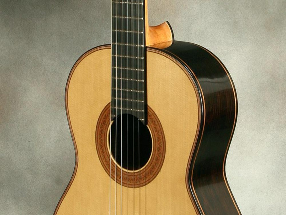 Prosono wood guitar