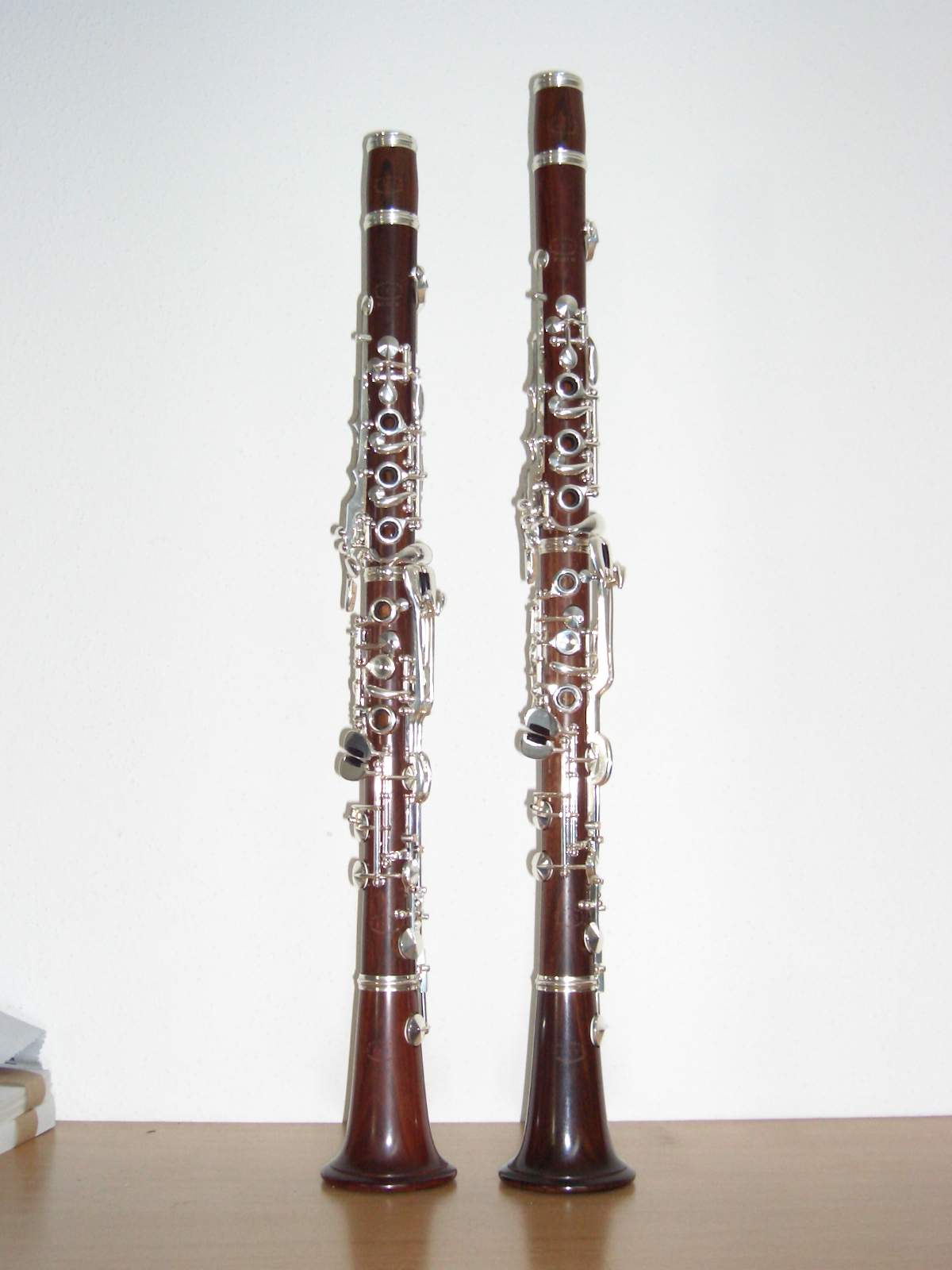 Clarinet Mopane W. Dietz, treated with linseed oil