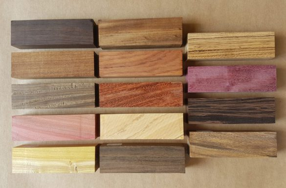 Knife Handle Blocks - 14 species