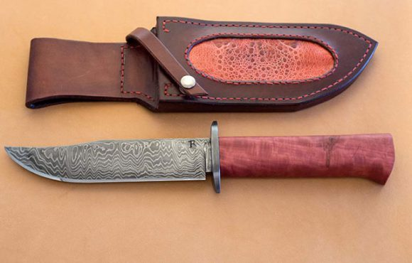 Knife-handle-Pink-ivory