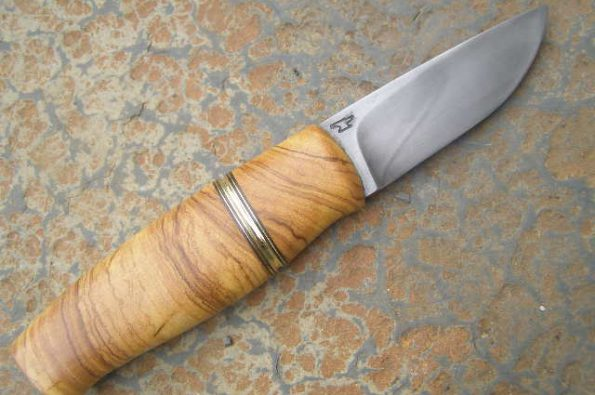 Knife handle wild olive