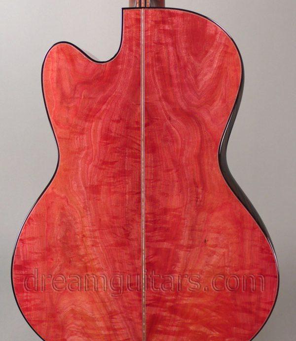 Marc Maingard Pink ivory guitar