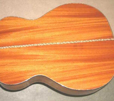 Mopane Guitar by Rodny Steedal