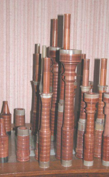 Pierre Blanchet Instruments en Mopane