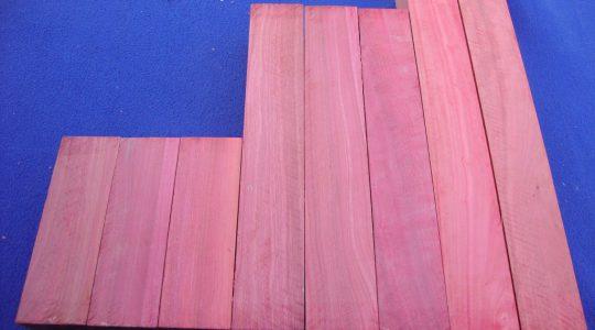 Pink ivory Musical grade wood 51x51x160&310&410