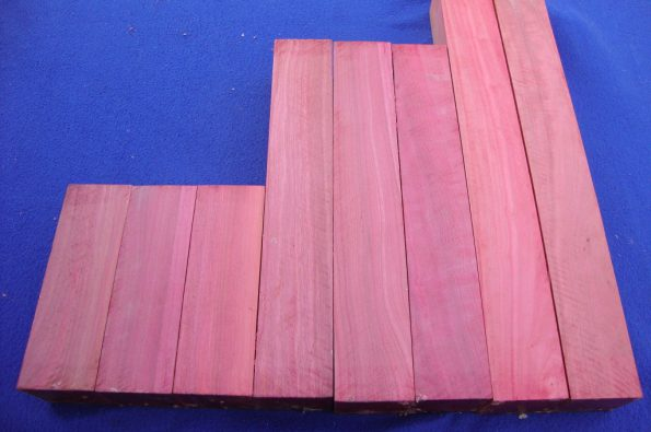 Pink ivory Musical grade wood 51x51x160&310&410