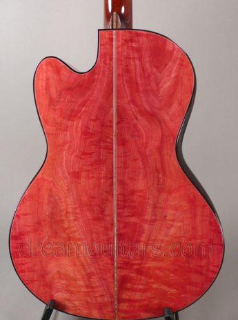 Pink ivory back & sides