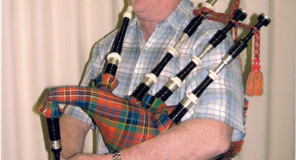 Scottisch HBP - Pipe Major Keith Walker playing