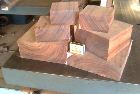 Turnery Mopane bowl blanks