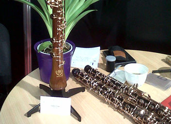 oboe and clarinet