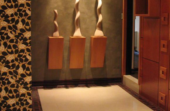 Diamond Centre de Johannesburg Combination of ebony and mopane