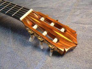 African cocobolo guitar head