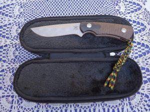 leadwood knife handle