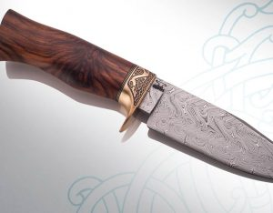 mopane knife handle