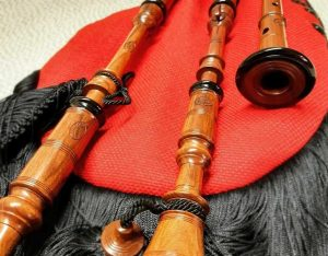 Tonewood for pipes and bagpipes
