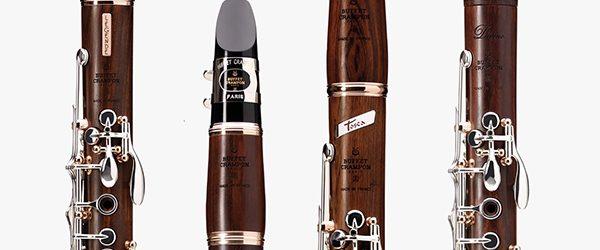 Range of mopane clarinets
